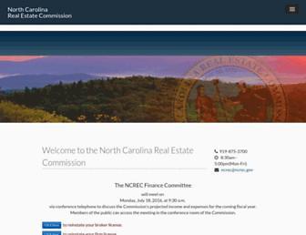 ncrec.gov screenshot