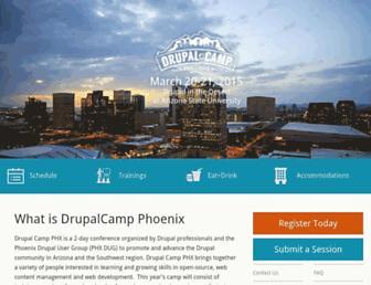 Thumbshot of Drupalcampphoenix.com