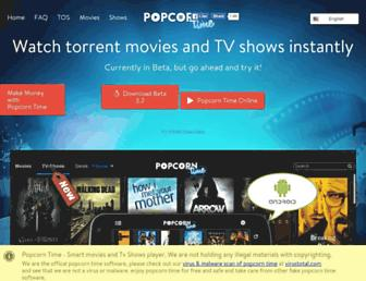 Thumbshot of Popcorn-time-free.com