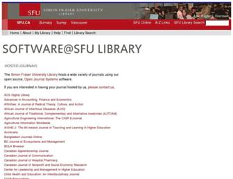 journals.sfu.ca screenshot