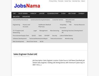 Thumbshot of Jobsnama.com