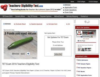 Thumbshot of Teachers-eligibility-test.com