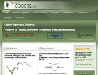 tradingcoders.com screenshot