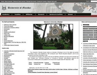 archive.mu.ac.in screenshot