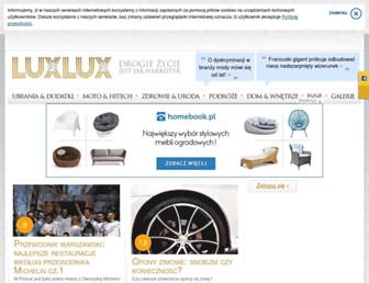 luxlux.pl screenshot