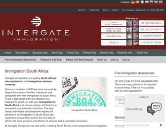 intergate-immigration.com screenshot