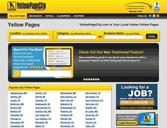 yellowpagecity.com screenshot