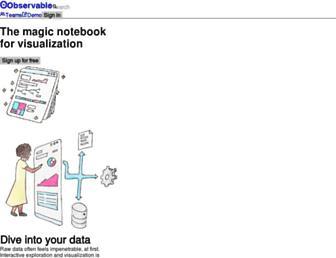 observablehq.com screenshot