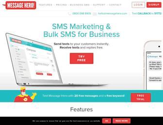 messagehero.com screenshot