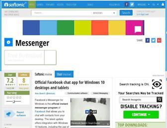facebook-messenger.en.softonic.com screenshot