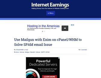 Thumbshot of Internetearnings.com