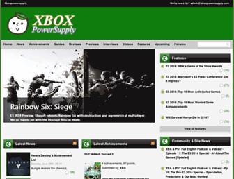 Thumbshot of Xboxpowersupply.com