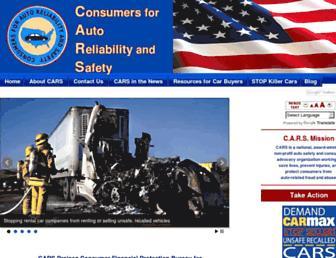carconsumers.org screenshot