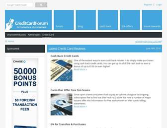 Thumbshot of Creditcardforum.com