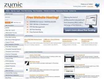 Thumbshot of Zymic.com