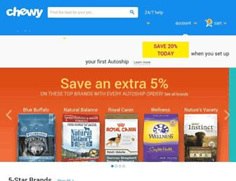 chewy.com screenshot