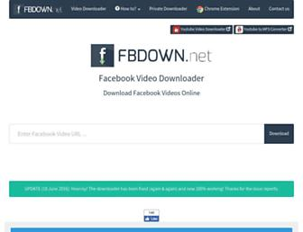Thumbshot of Fbdown.net
