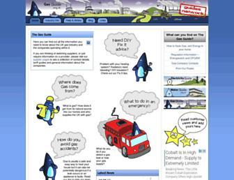 Main page screenshot of gas-guide.org.uk