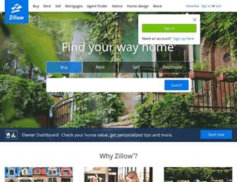 Thumbshot of Zillow.com