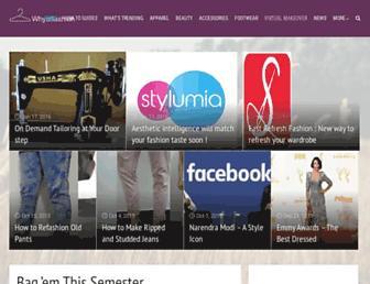 Thumbshot of Whyoffashion.com