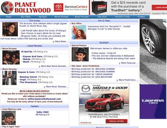 Thumbshot of Planetbollywood.com