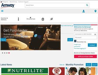 amway.com.ph screenshot