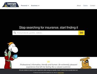 towergateinsurance.co.uk screenshot