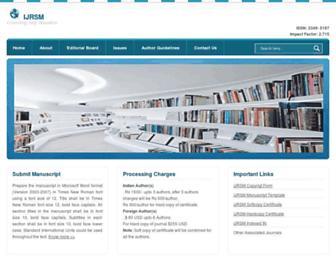ijrsm.com screenshot
