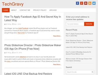 techgravy.net screenshot