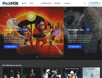 pelisfox.tv screenshot