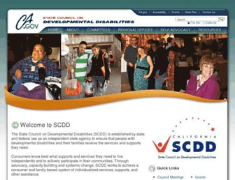 scdd.ca.gov screenshot