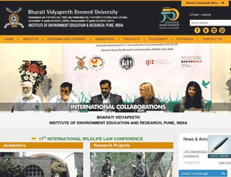 ieer.bharatividyapeeth.edu screenshot