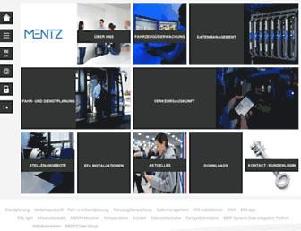 mentz.net screenshot
