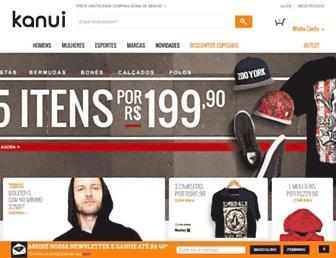 kanui.com.br screenshot