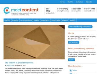 meetcontent.com screenshot