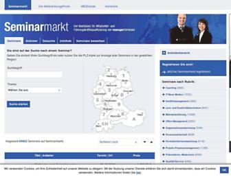 seminarmarkt.de screenshot