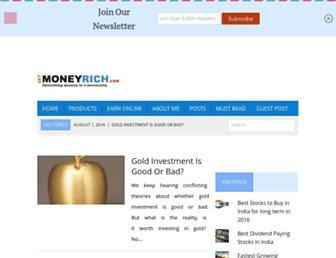 getmoneyrich.com screenshot