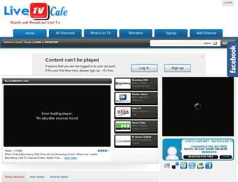 Thumbshot of Livetvcafe.net