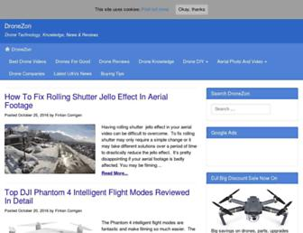 dronezon.com screenshot