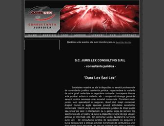 jurislex.ro screenshot