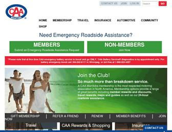 caamanitoba.com screenshot