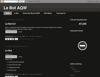 le-bot-aqw.blogspot.com screenshot