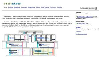 swiftgantt.sourceforge.net screenshot