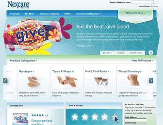 Thumbshot of Nexcare.com
