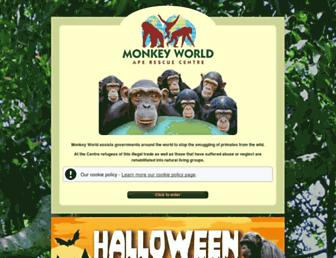 monkeyworld.org screenshot