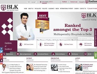 blkhospital.com screenshot