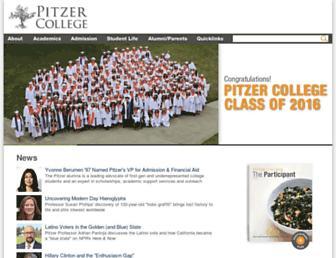 Thumbshot of Pitzer.edu