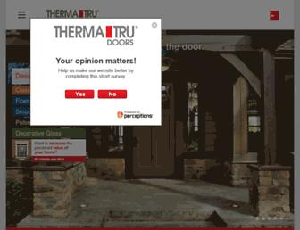 Thumbshot of Thermatru.com