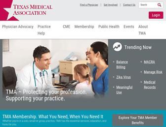 texmed.org screenshot