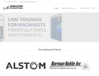 gibbscamtraining.com screenshot